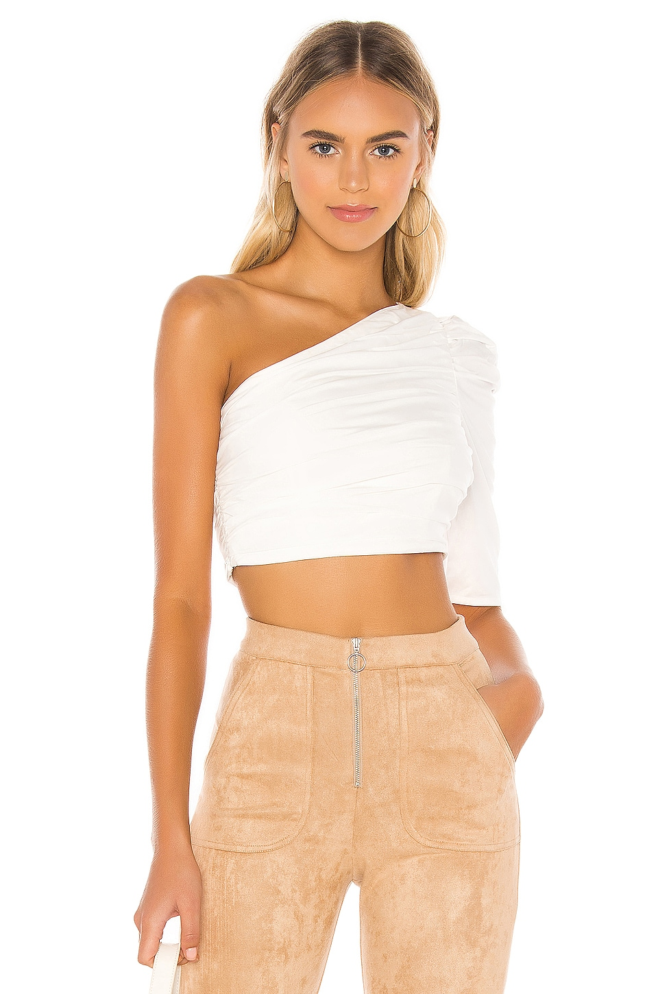 MAJORELLE Donatella Top in White