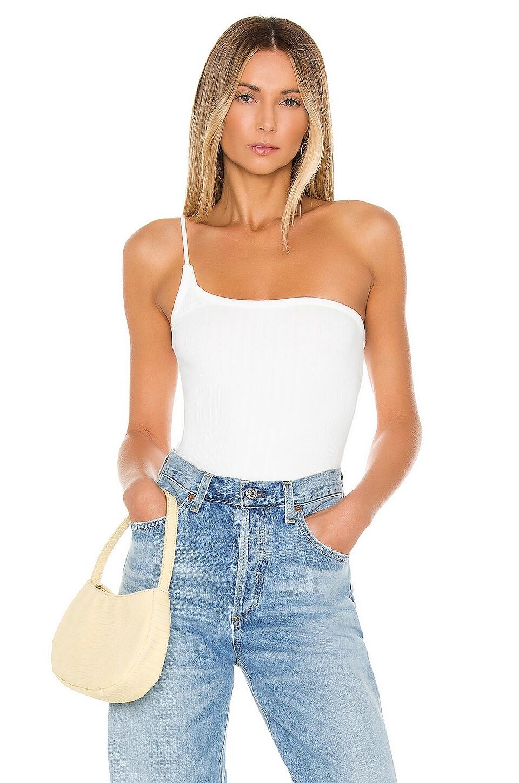 MAJORELLE Tammie Bodysuit in White