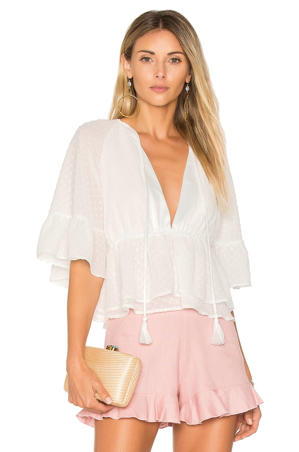 Hibiscus Top by Majorelle