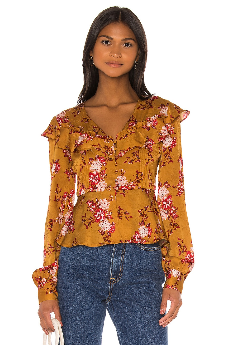 MAJORELLE Broadway Top in Countryside Multi