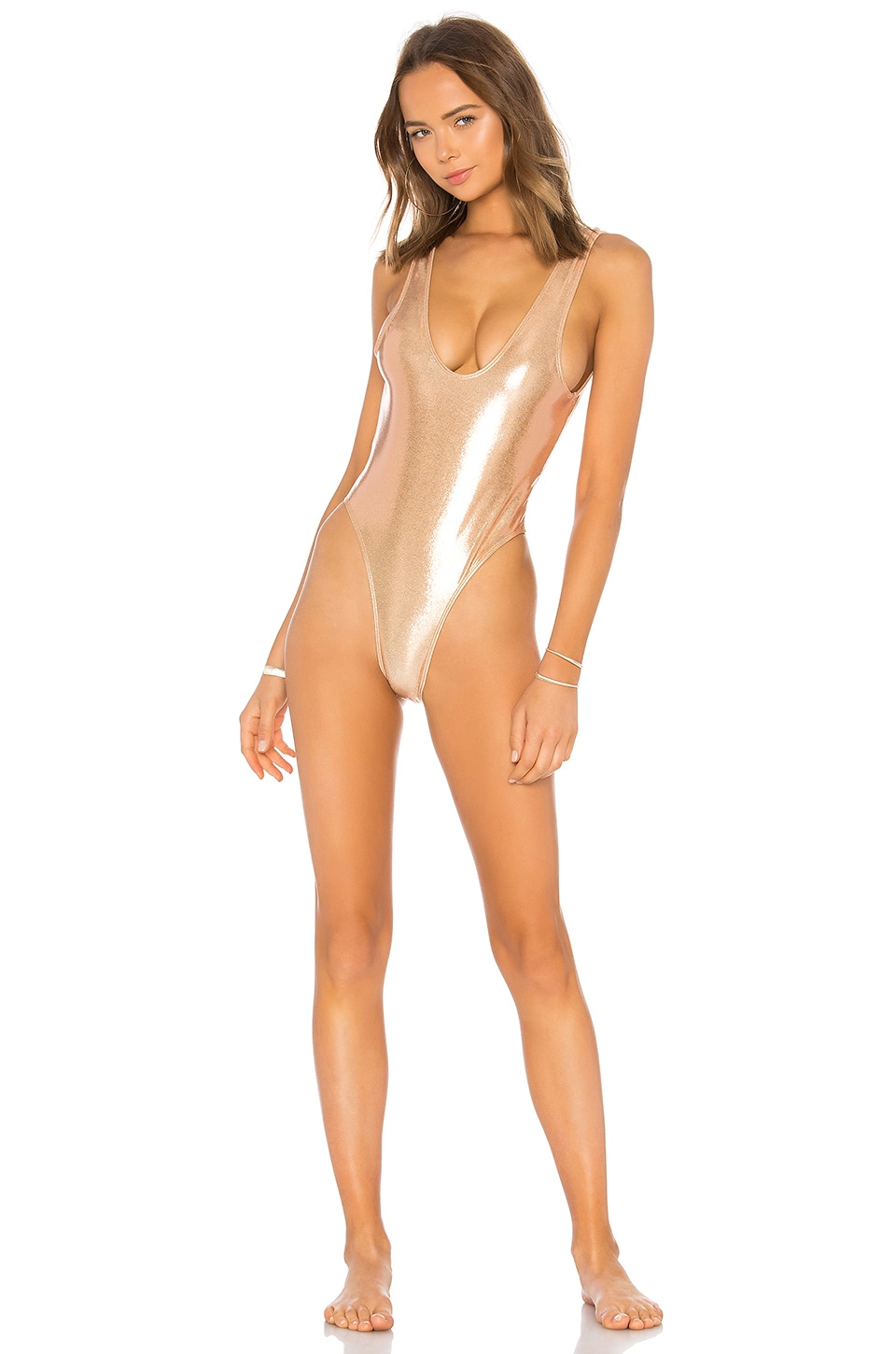 MINIMALE ANIMALE THE TYLER SHIMMER SUIT
