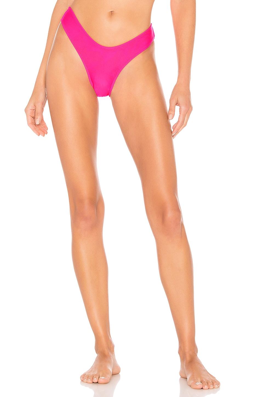 MINIMALE ANIMALE The Soho Brief Bikini Bottom in Vivid