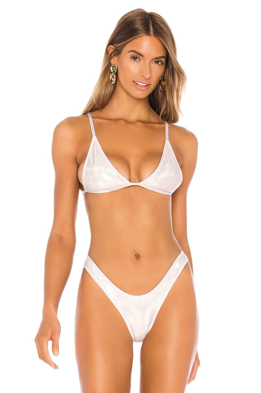 MINIMALE ANIMALE The Mirage Bikini Top in Ecstasy Prism