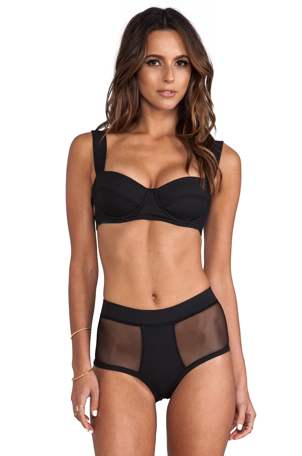 MINIMALE ANIMALE Eastwood Bikini in Outlaw Black