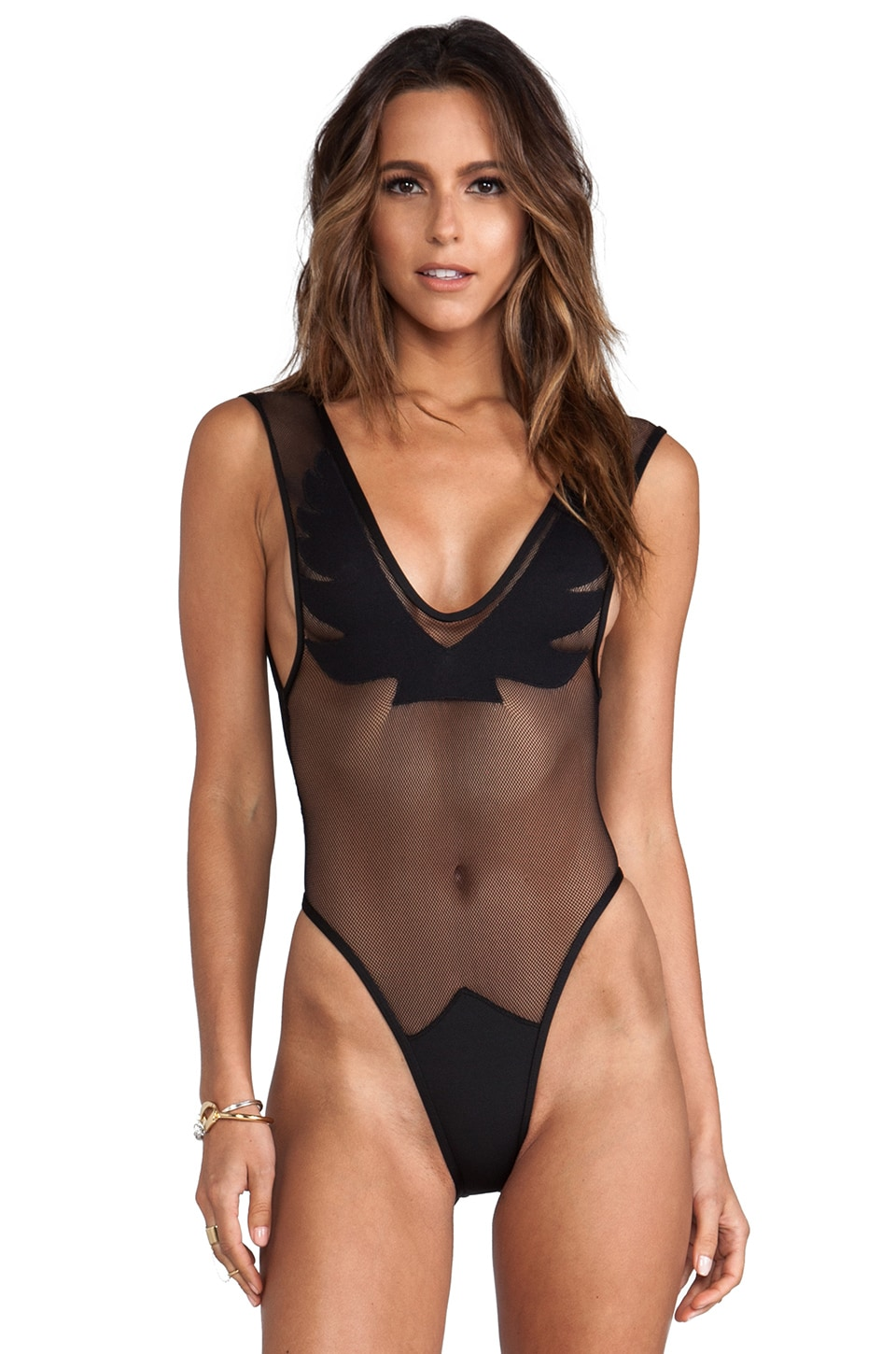 MINIMALE ANIMALE Firebird Suit in Outlaw Black
