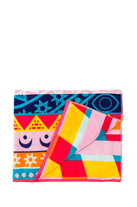 Mara Hoffman Pendleton Towel in Rays Pink