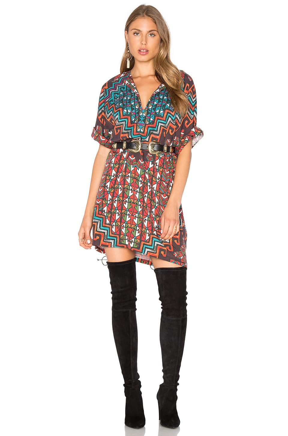 Bolnisi Rug Tunic Dress by Mara Hoffman
