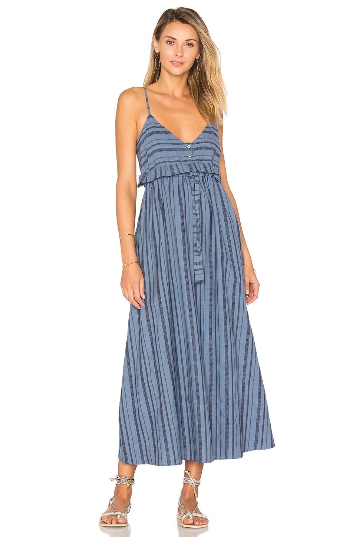 buy Tie Waist Midi Dress by Mara Hoffman dresses online shopping