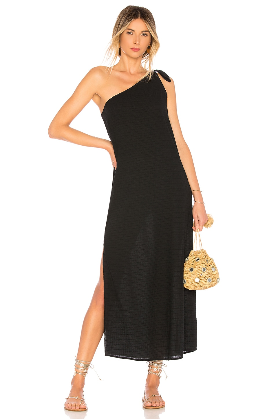 Mara Hoffman Camilla Dress in Black