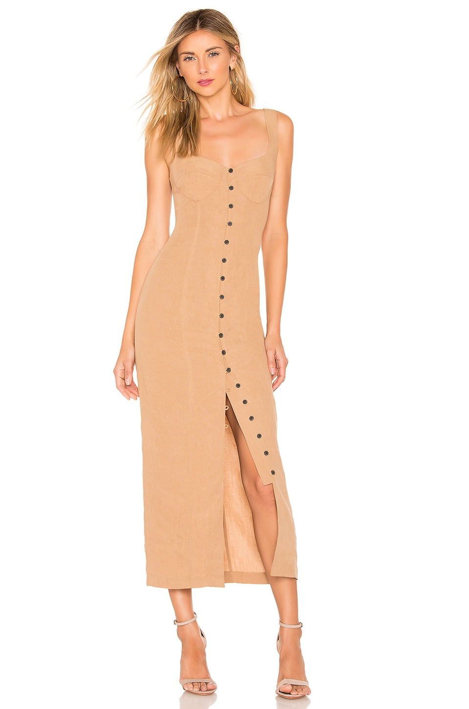 Mara Hoffman Angelica Dress in Khaki