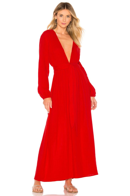 Mara Hoffman Luna Dress in Red