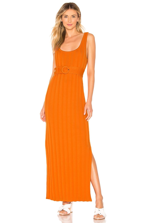 Mara Hoffman Harlow Dress in Orange