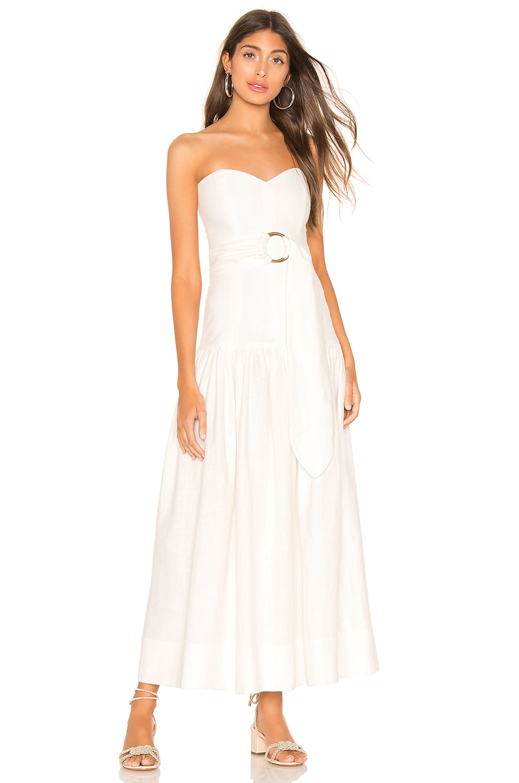 Mara Hoffman Augustina Dress in White
