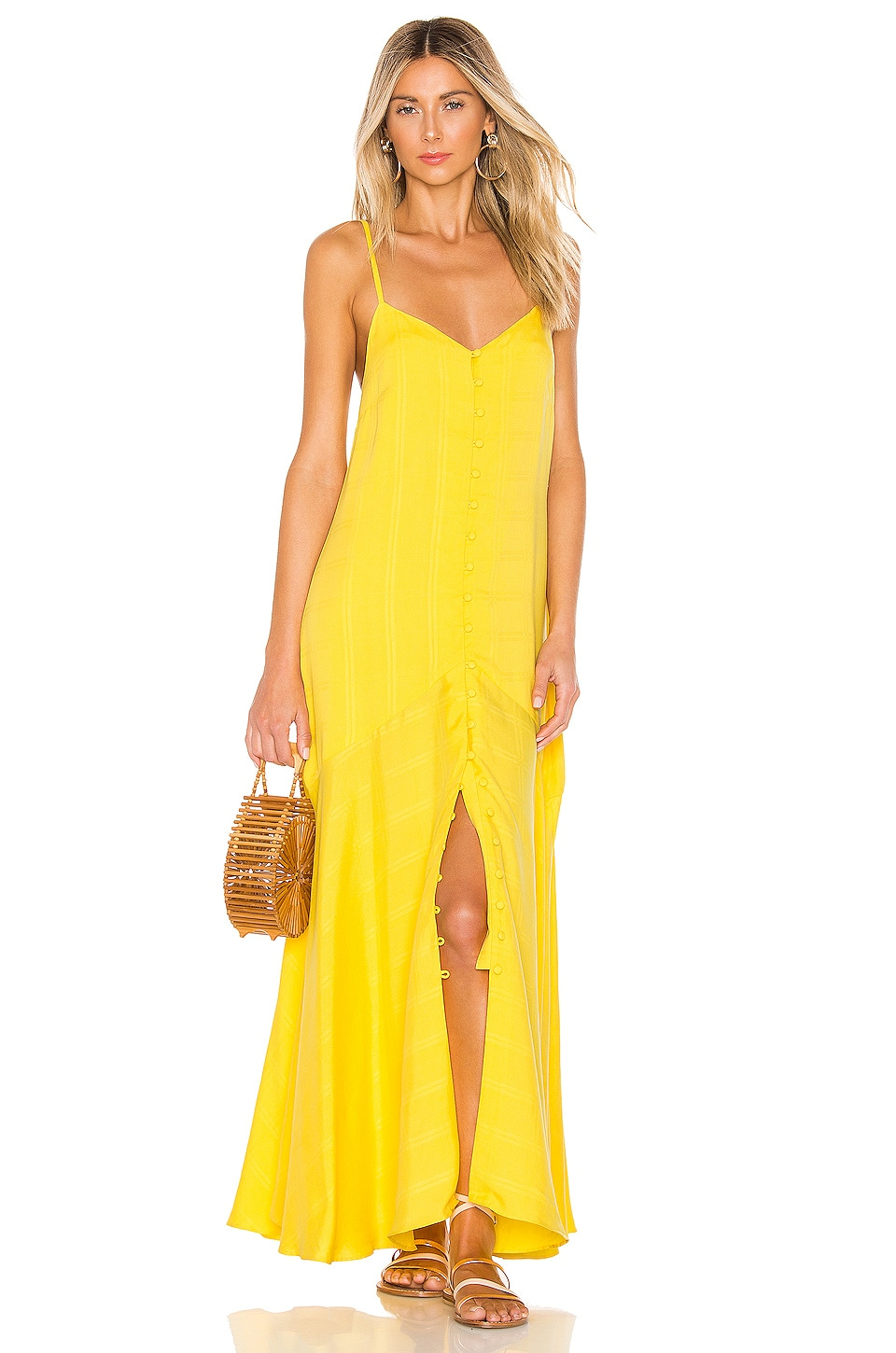 Mara Hoffman Diana Dress in Yellow