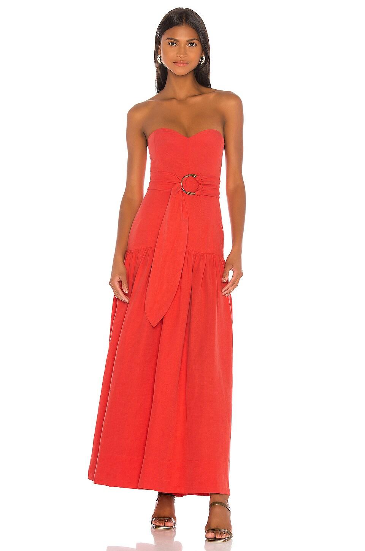 Mara Hoffman Augustina Dress in Red