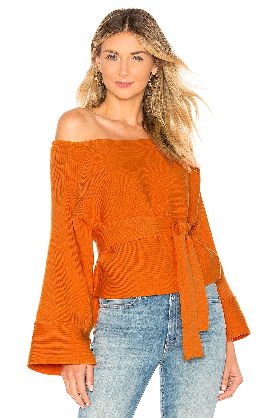 Mara Hoffman Lilou Top in Orange