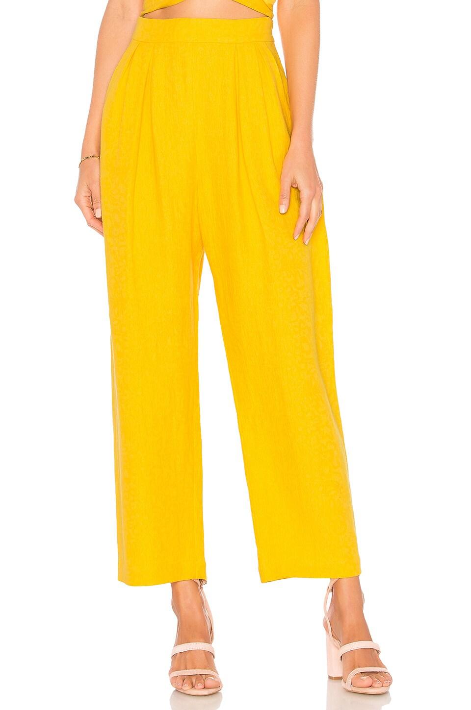 Mara Hoffman Audre Pant in Yellow