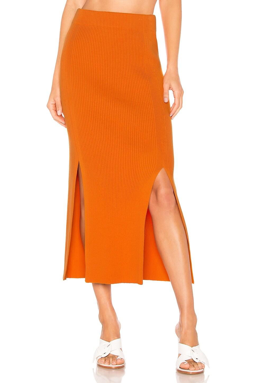 Mara Hoffman Leon Skirt in Orange