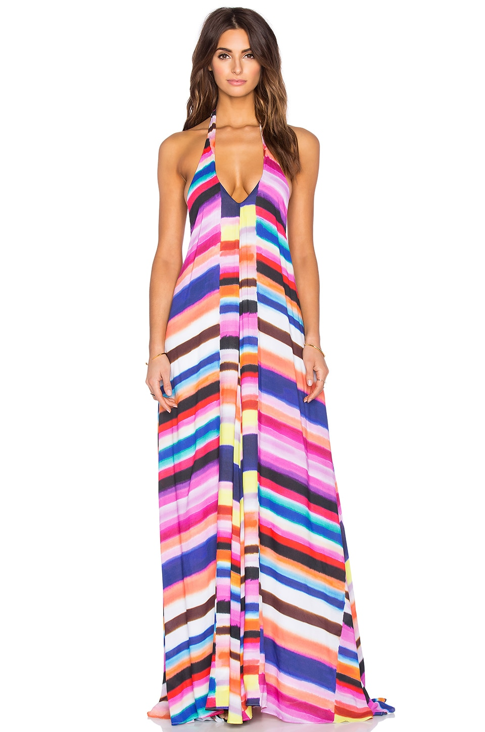 Mara Hoffman Solstice Maxi Dress in Bubble Gum | REVOLVE