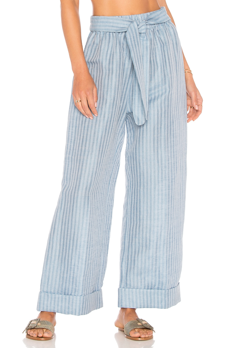 Mara Hoffman Sasha Pant in Light Denim