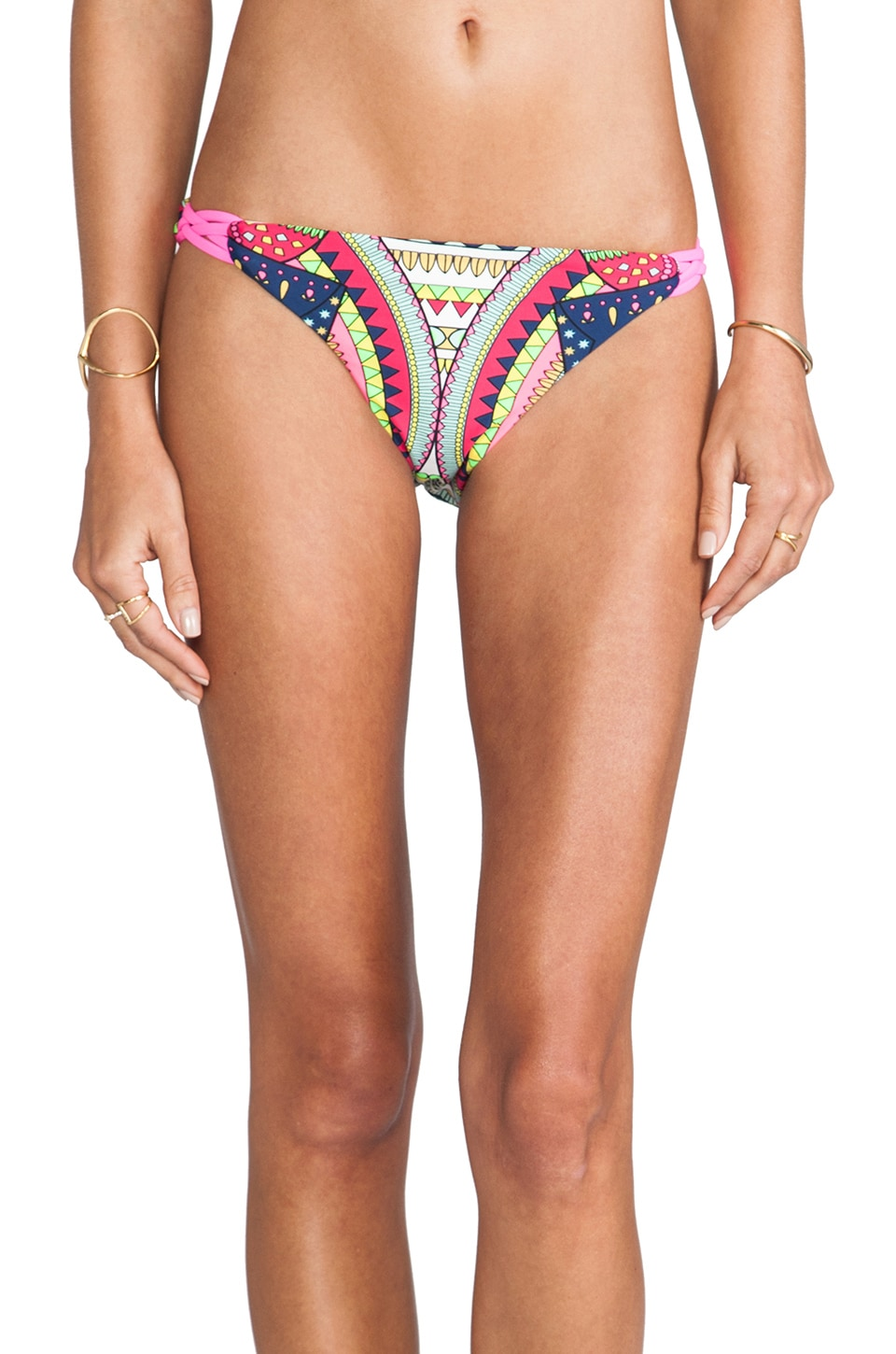 Mara Hoffman Basket Weave Bottom in Ganesh White
