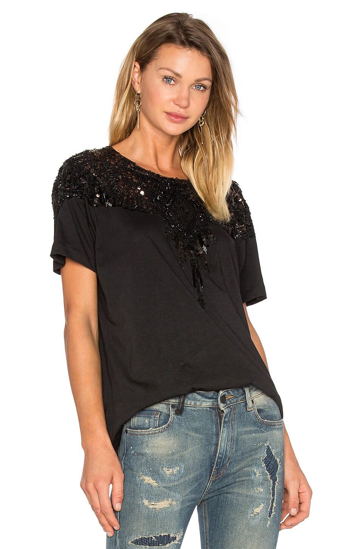 Marcelo Burlon Mermoz T Shirt in Black Multicolor