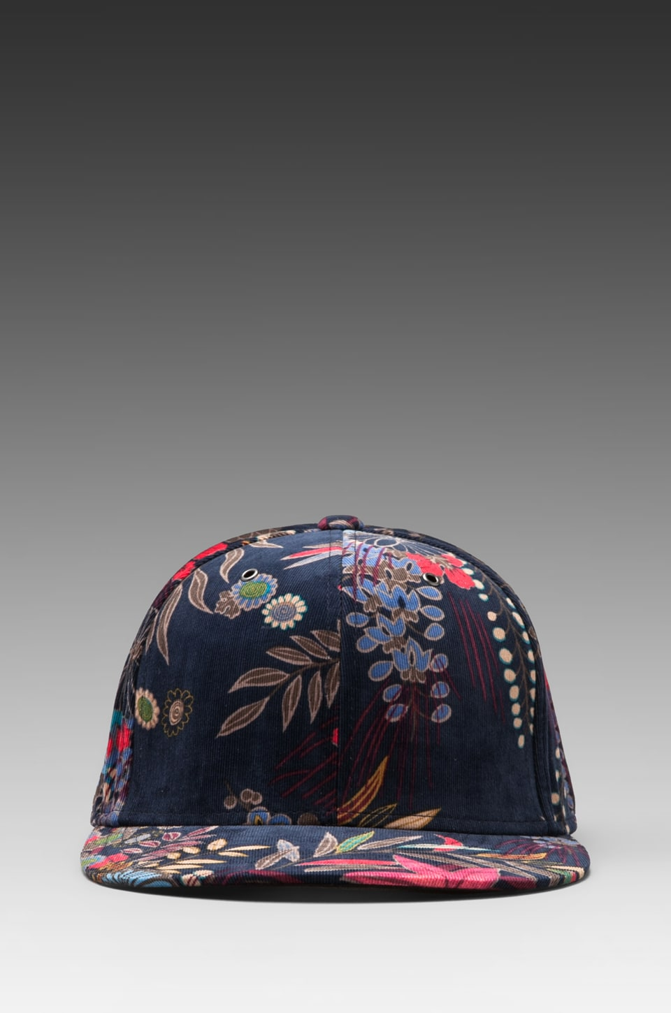 Marc by Marc Jacobs Wichita Floral Hat in Total Eclipse Multi