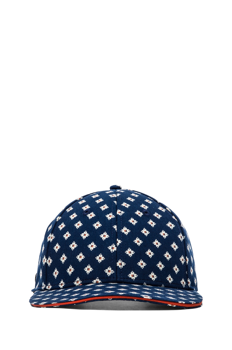 Marc by Marc Jacobs Catalina Chambray Cap in Indigo Multi