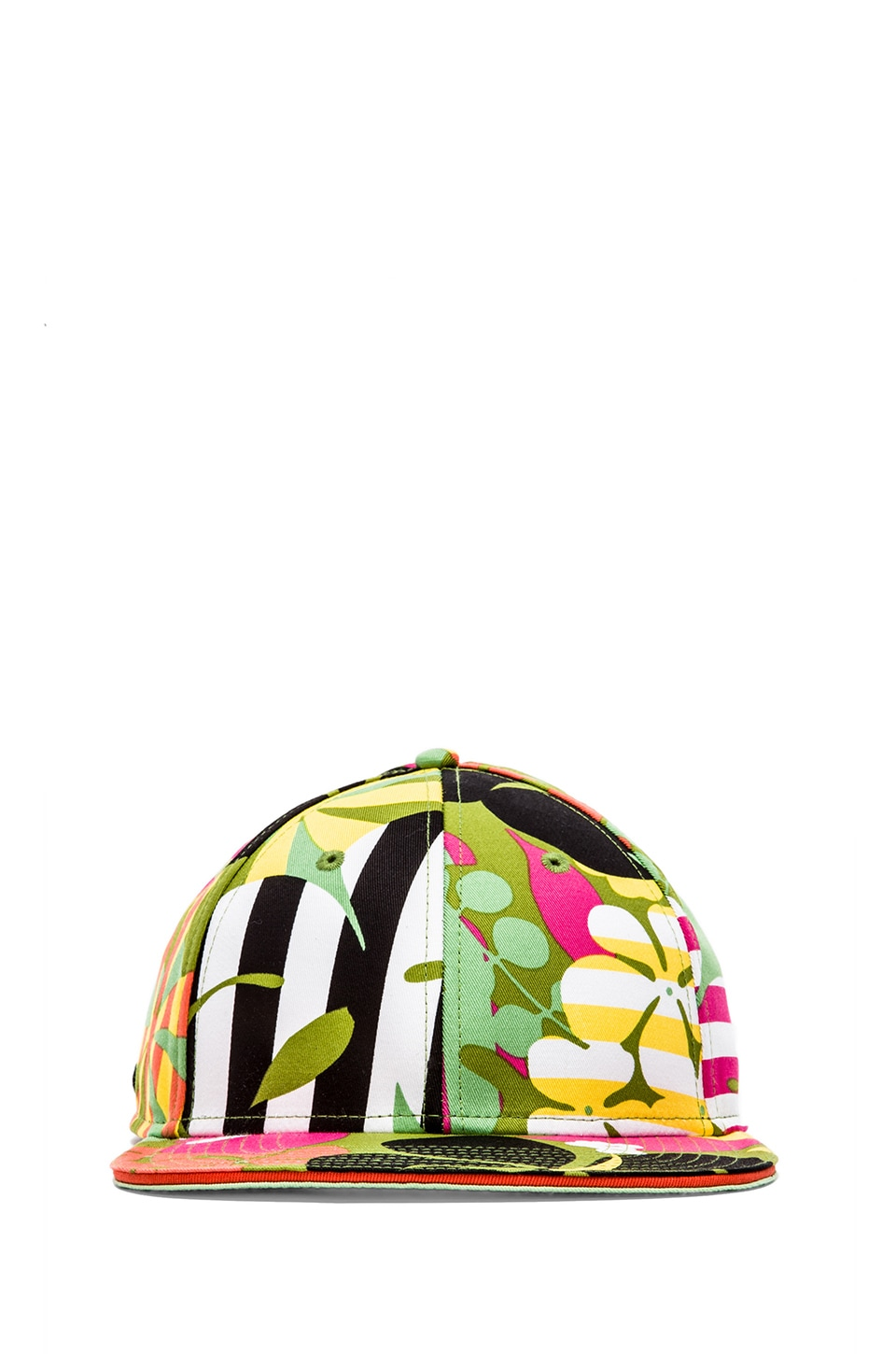 Marc by Marc Jacobs Laguna Floral Cap in Green Multi