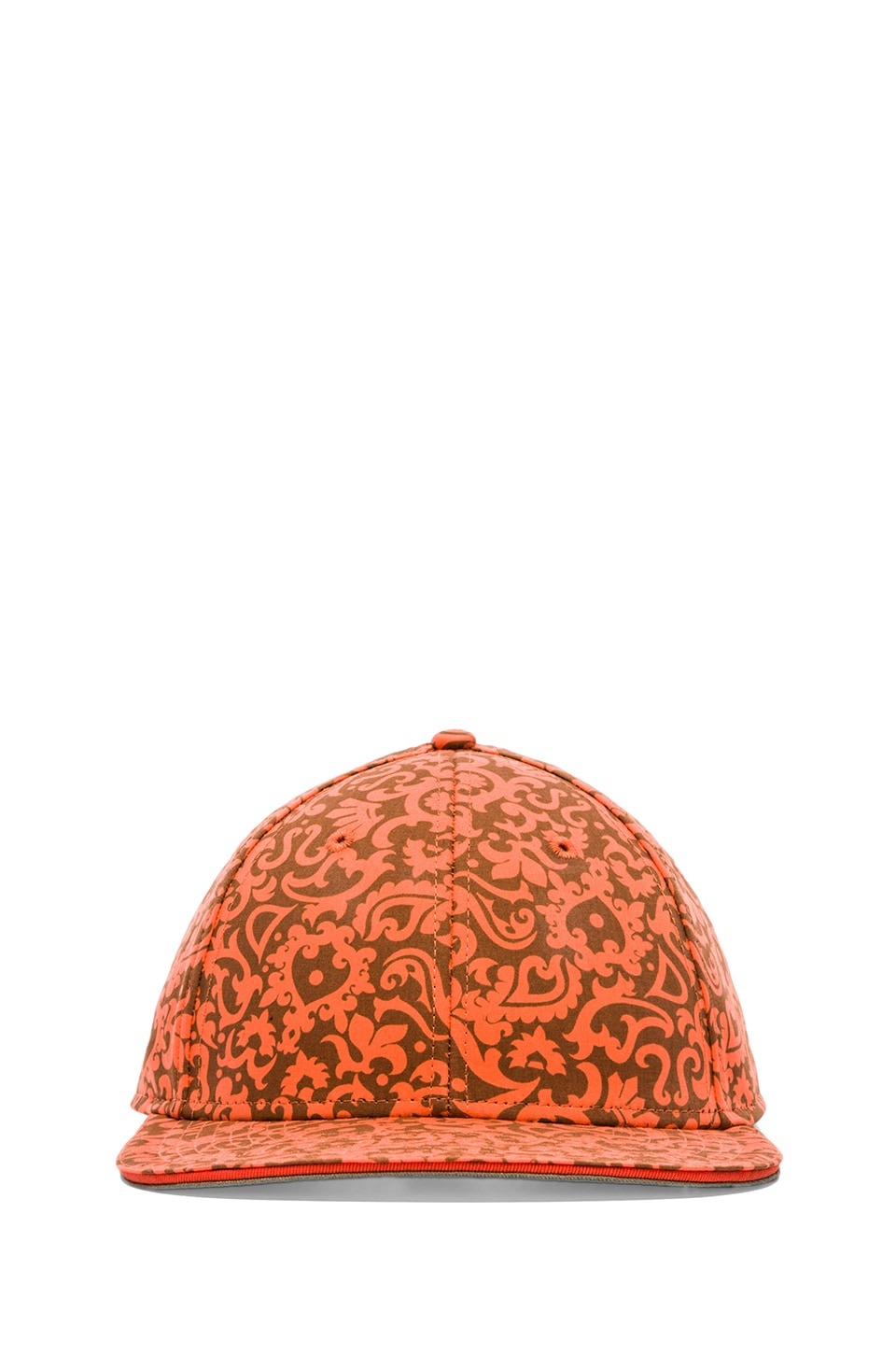 Marc by Marc Jacobs Mini Malibu Print Cap in Orange Multi