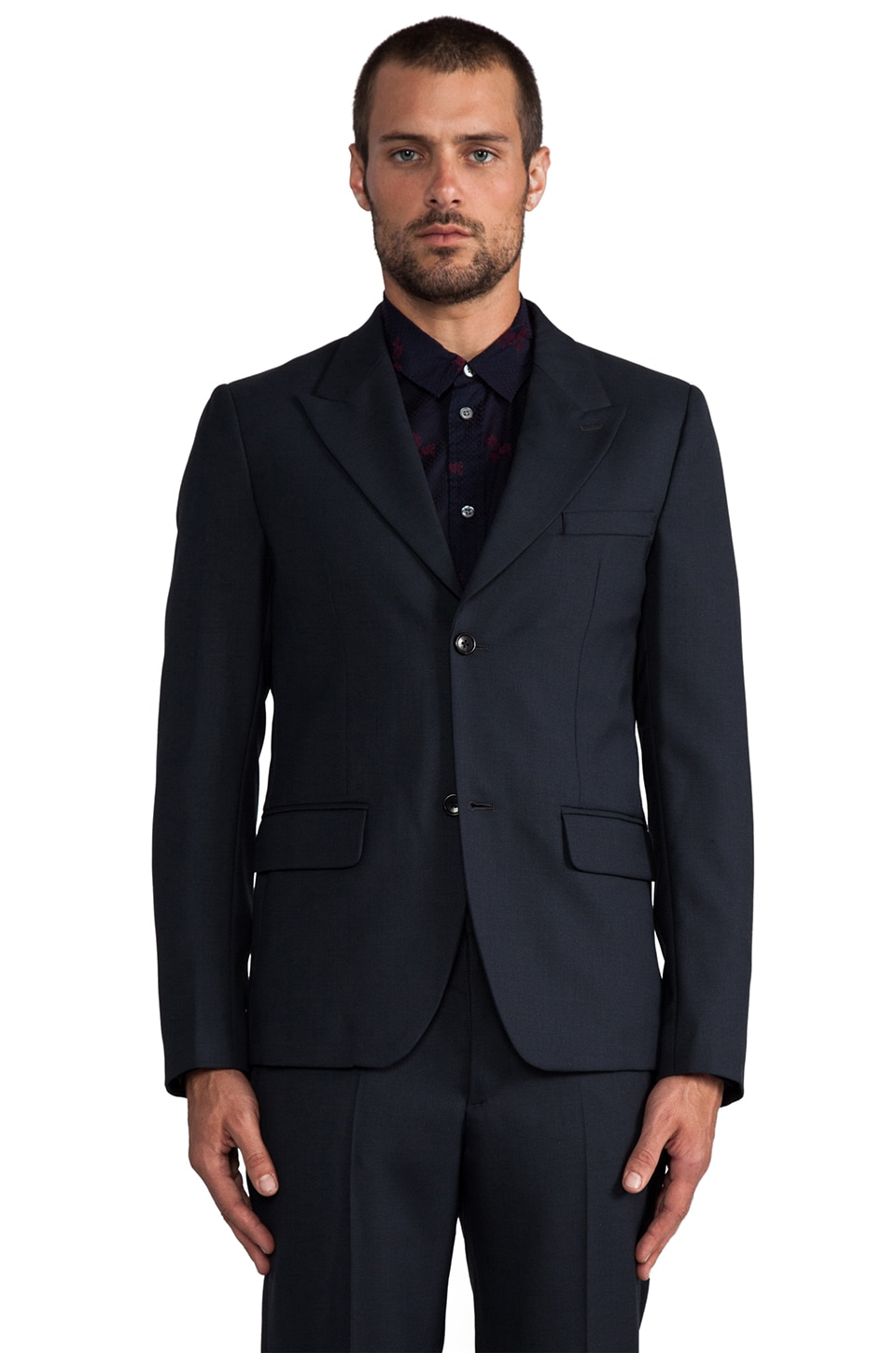 Marc by Marc Jacobs Travis Suiting Blazer in Normandy Blue
