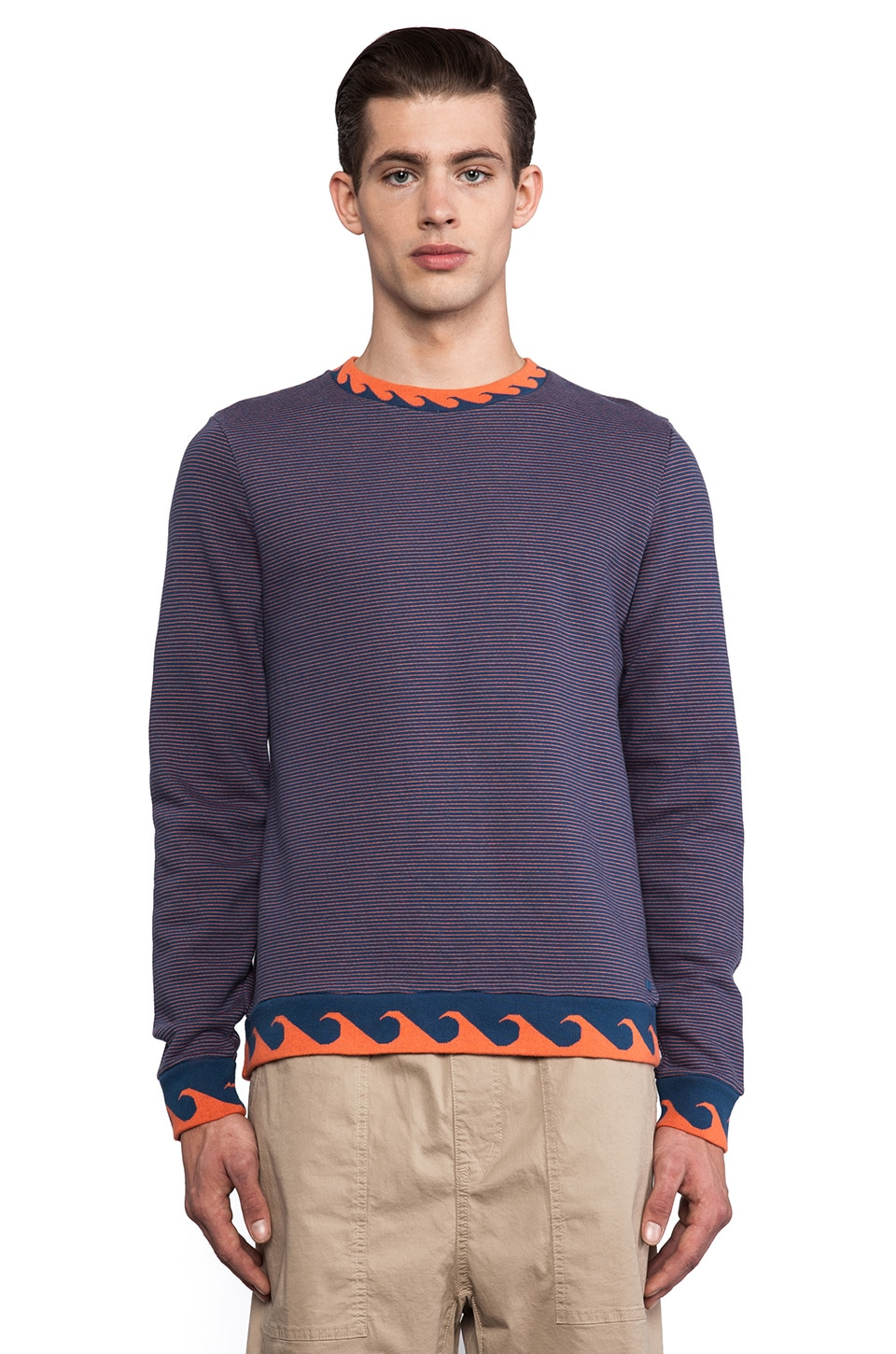 Marc by Marc Jacobs Venice Sweatshirt in Periwinkle Blue Multi