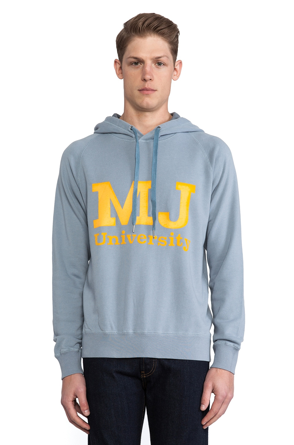 Marc by Marc Jacobs MJ Sweatshirt in Ore Blue Multi