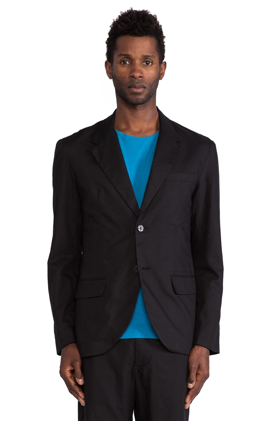 Marc by Marc Jacobs Orlando Cotton Blazer in Black