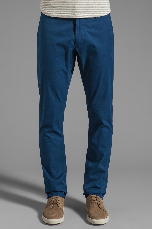Marc by Marc Jacobs Cambridge Cotton Pant in Estate Blue