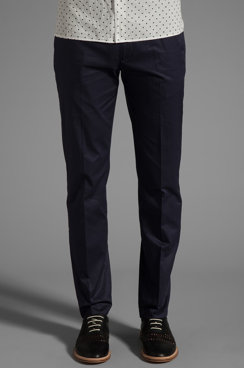 Marc by Marc Jacobs Adam Cotton Pants in Violet Indigo