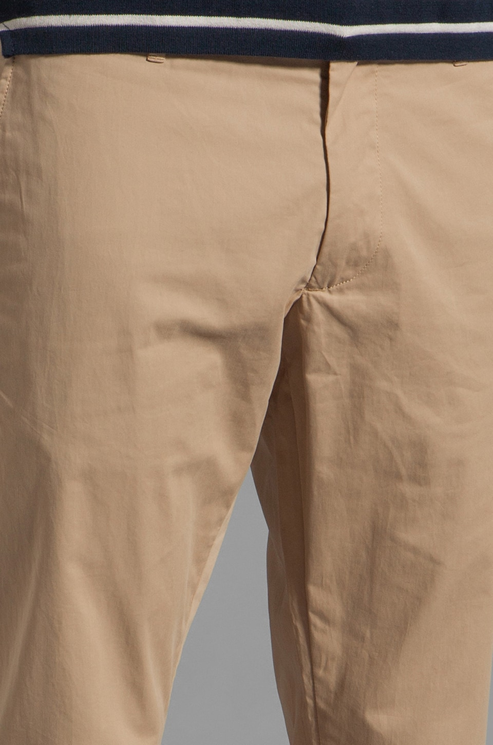Marc by Marc Jacobs California Cotton Pant in Nomad Khaki