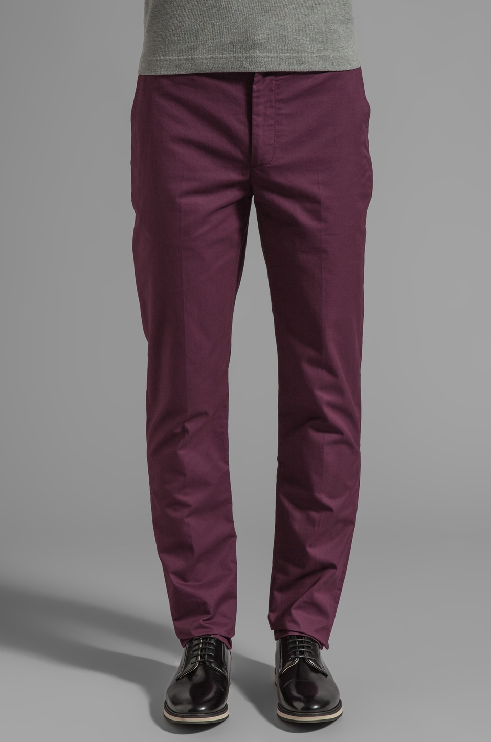 Marc by Marc Jacobs Aspen Cotton Pant in Midnight Cranberry