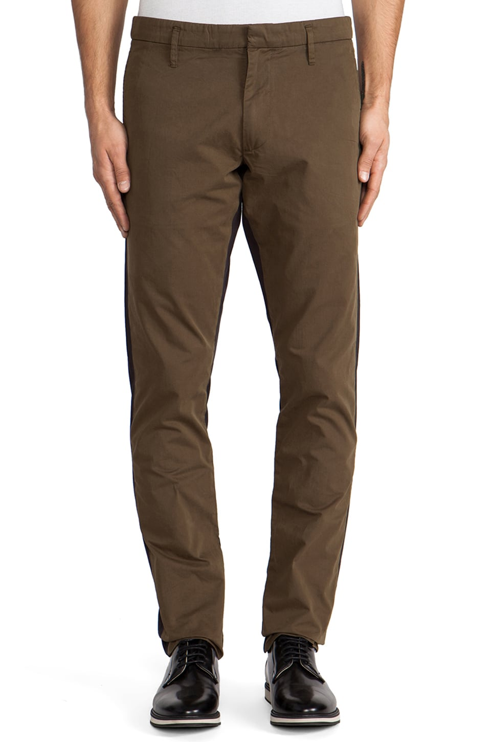 Marc by Marc Jacobs Mariner Cotton Pant in Rainforest Green Multi