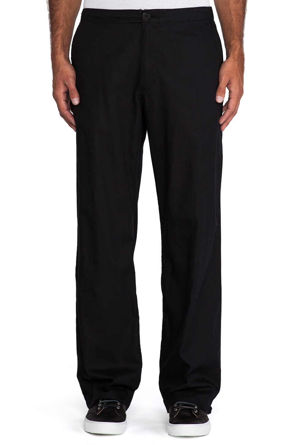 Marc by Marc Jacobs Orlando Cotton Pant in Black