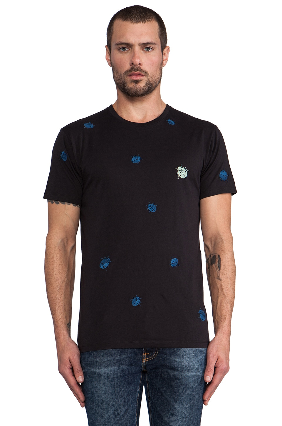 Marc by Marc Jacobs Ladybug Tee in Moonless Night