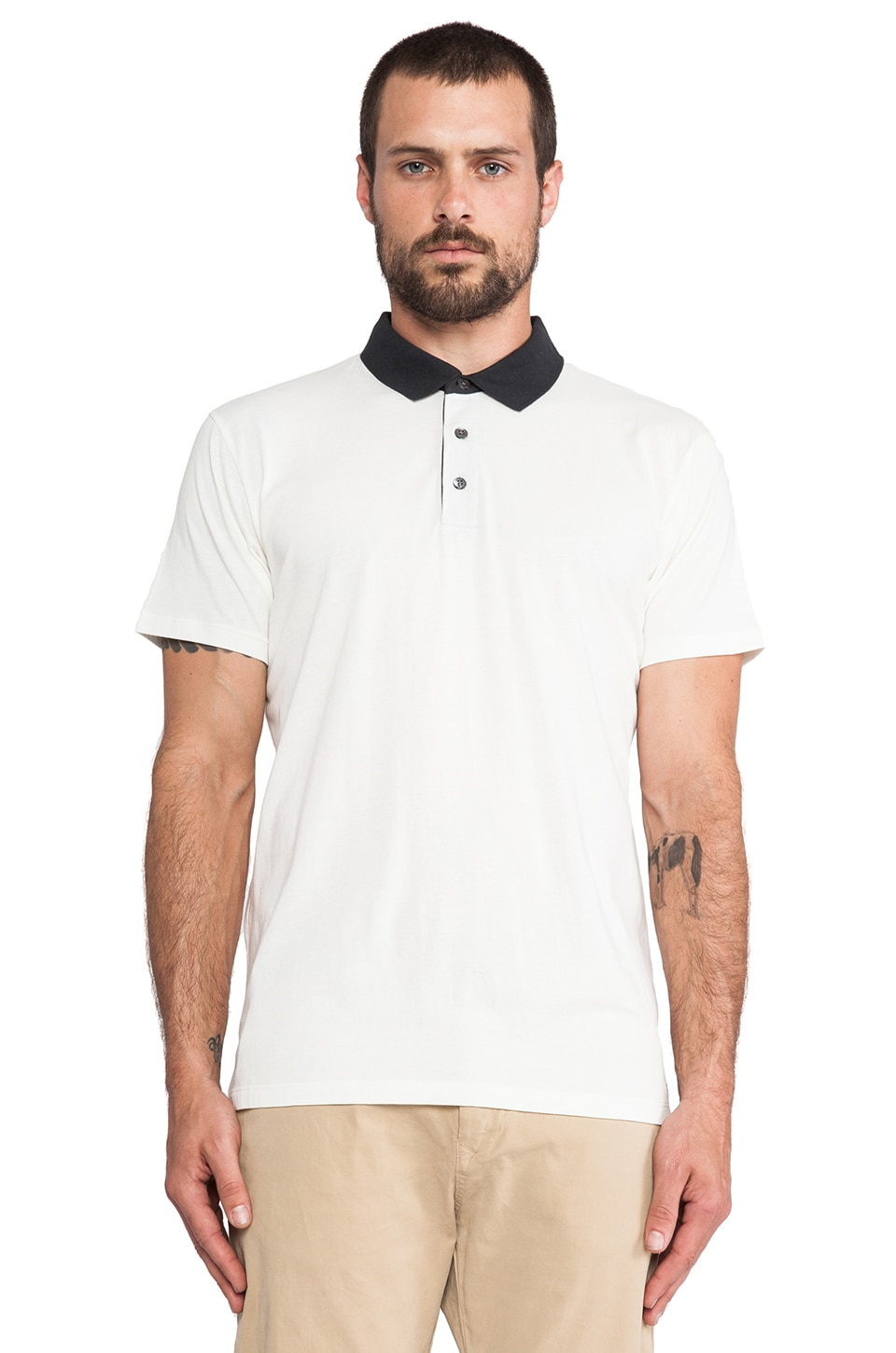 Marc by Marc Jacobs Bel Air Polo in Canvas White
