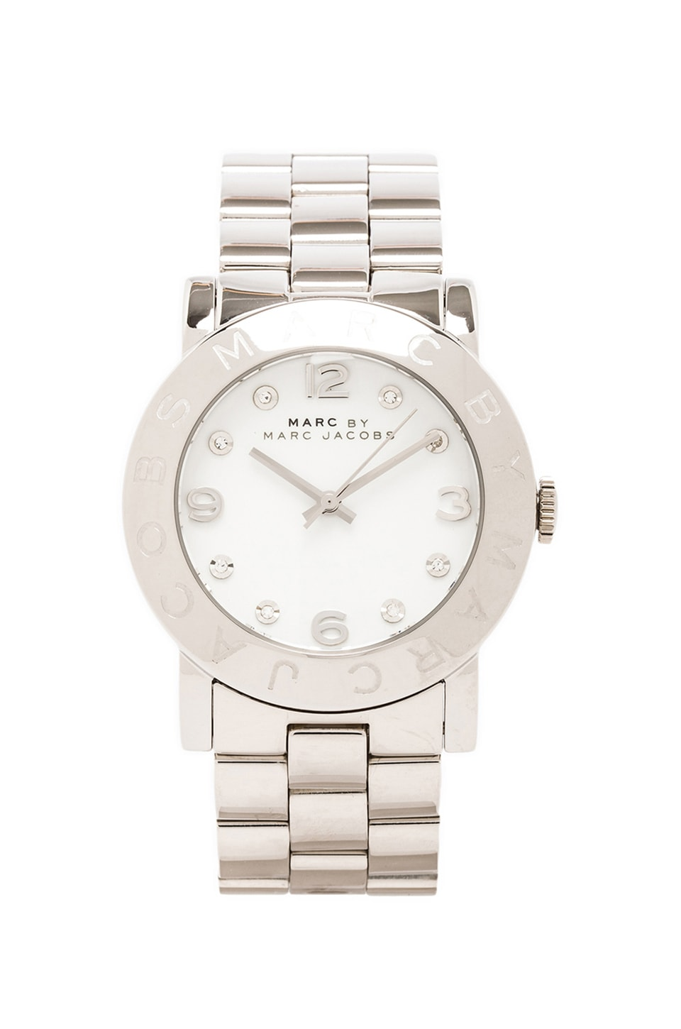 Marc by Marc Jacobs Amy Watch in Silver