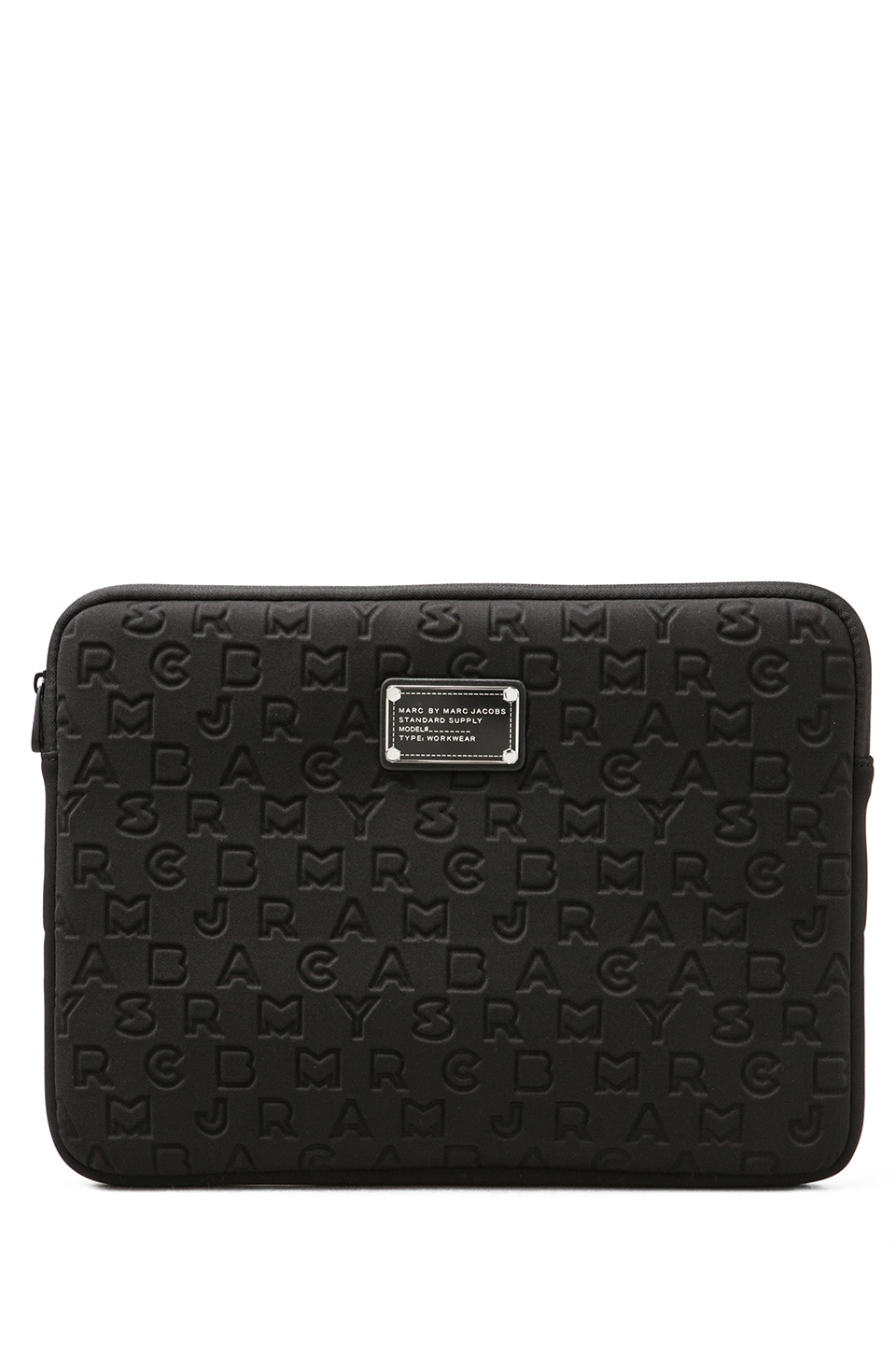 Marc by Marc Jacobs Dreamy Logo Neoprene 13' Computer Case in Black