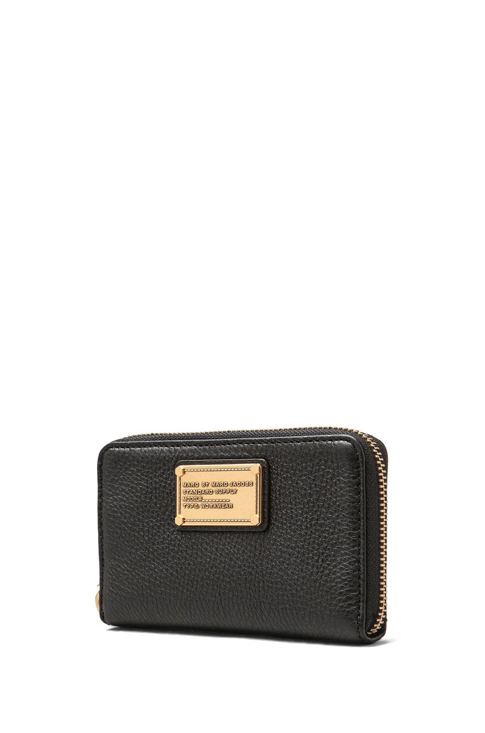 Marc by Marc Jacobs Classic Q Core Wingman Wallet in Black
