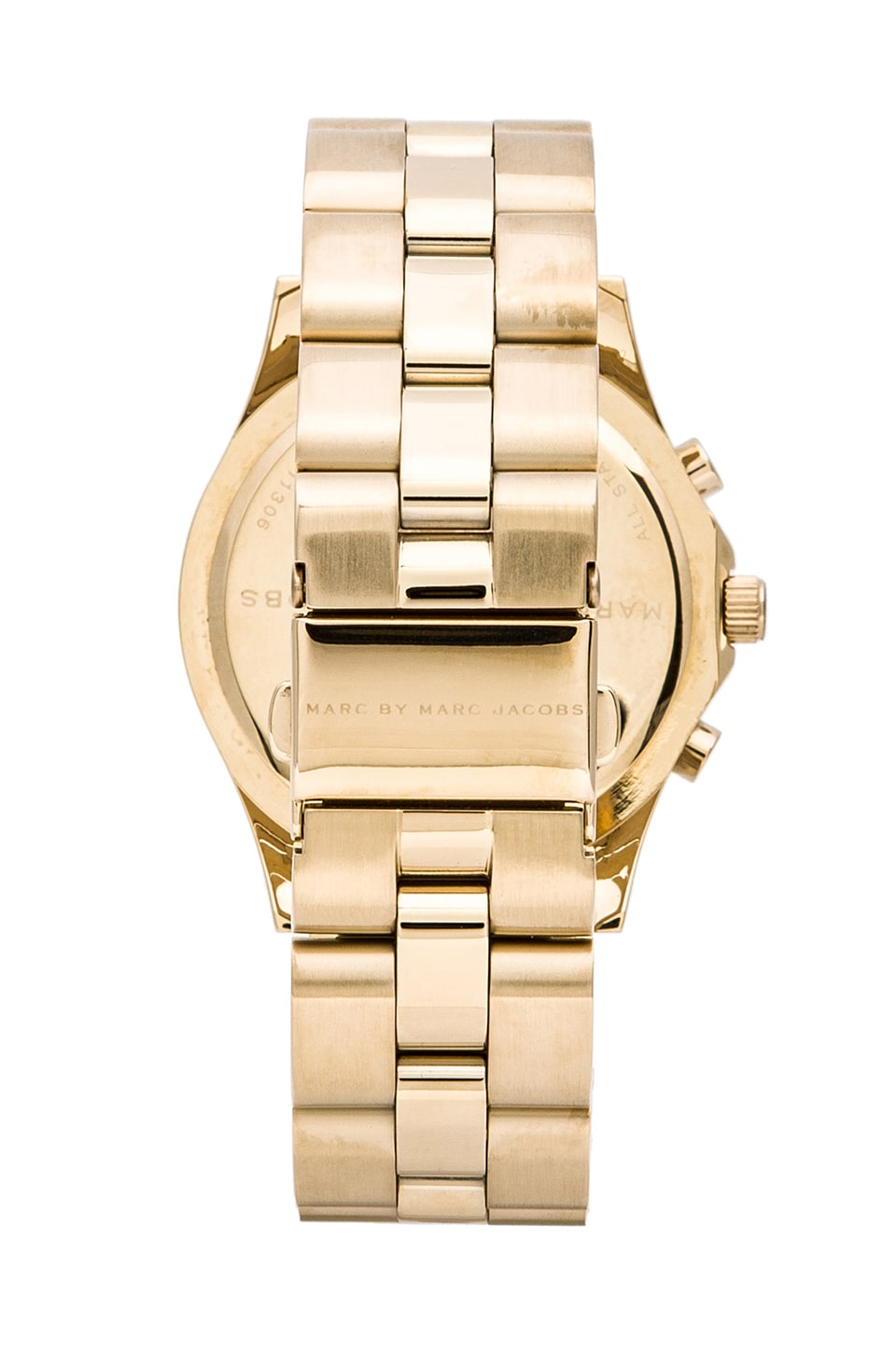 Marc by Marc Jacobs Blade Chrono Watch in Gold