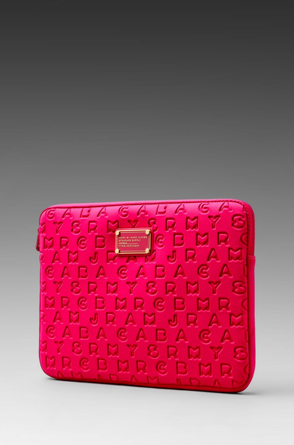 Marc by Marc Jacobs Dreamy Logo Neoprene 13' Computer Case in Peony