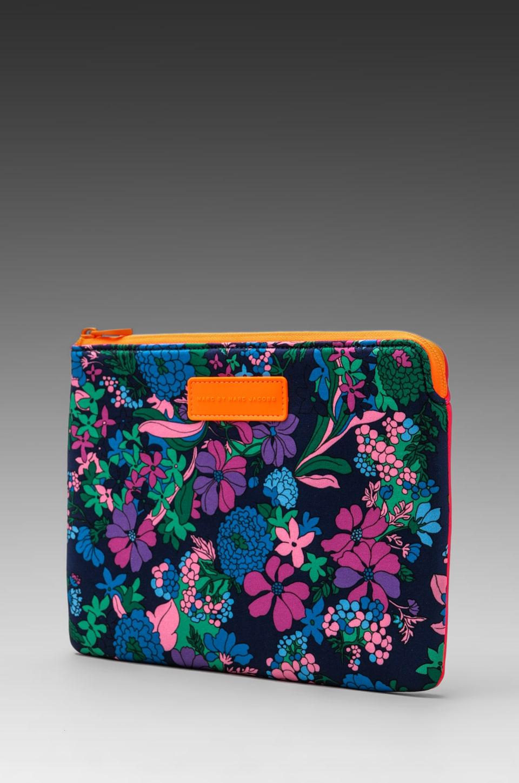 Marc by Marc Jacobs Neoprene Drew Blossom Tablet Zip Case in Estate Blue Multi