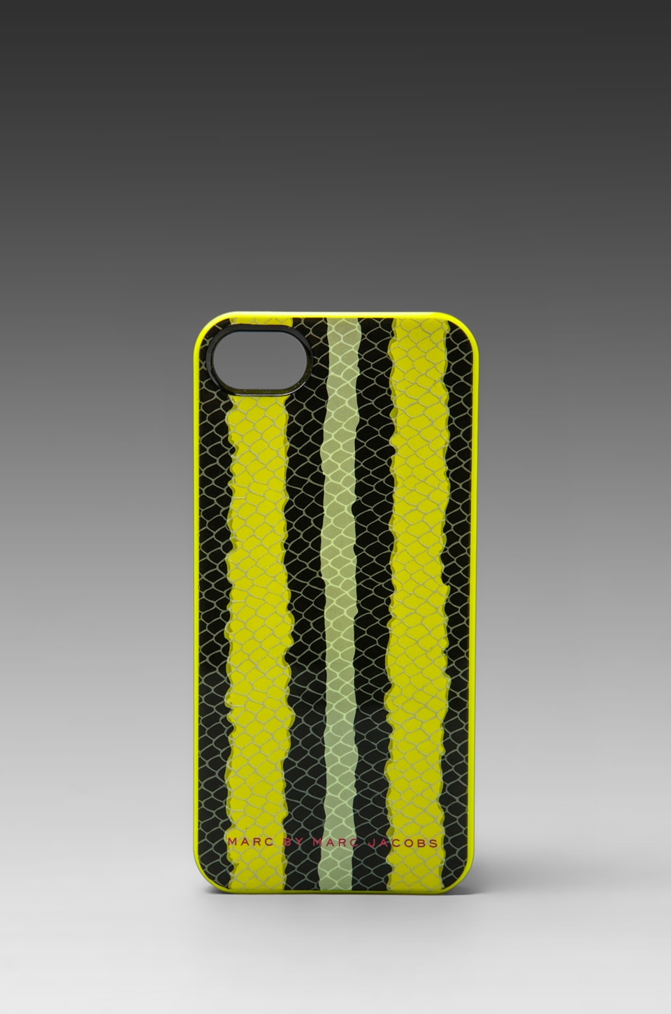 Marc by Marc Jacobs Anemone Stripe Phone Cases in Safety Multi Yellow
