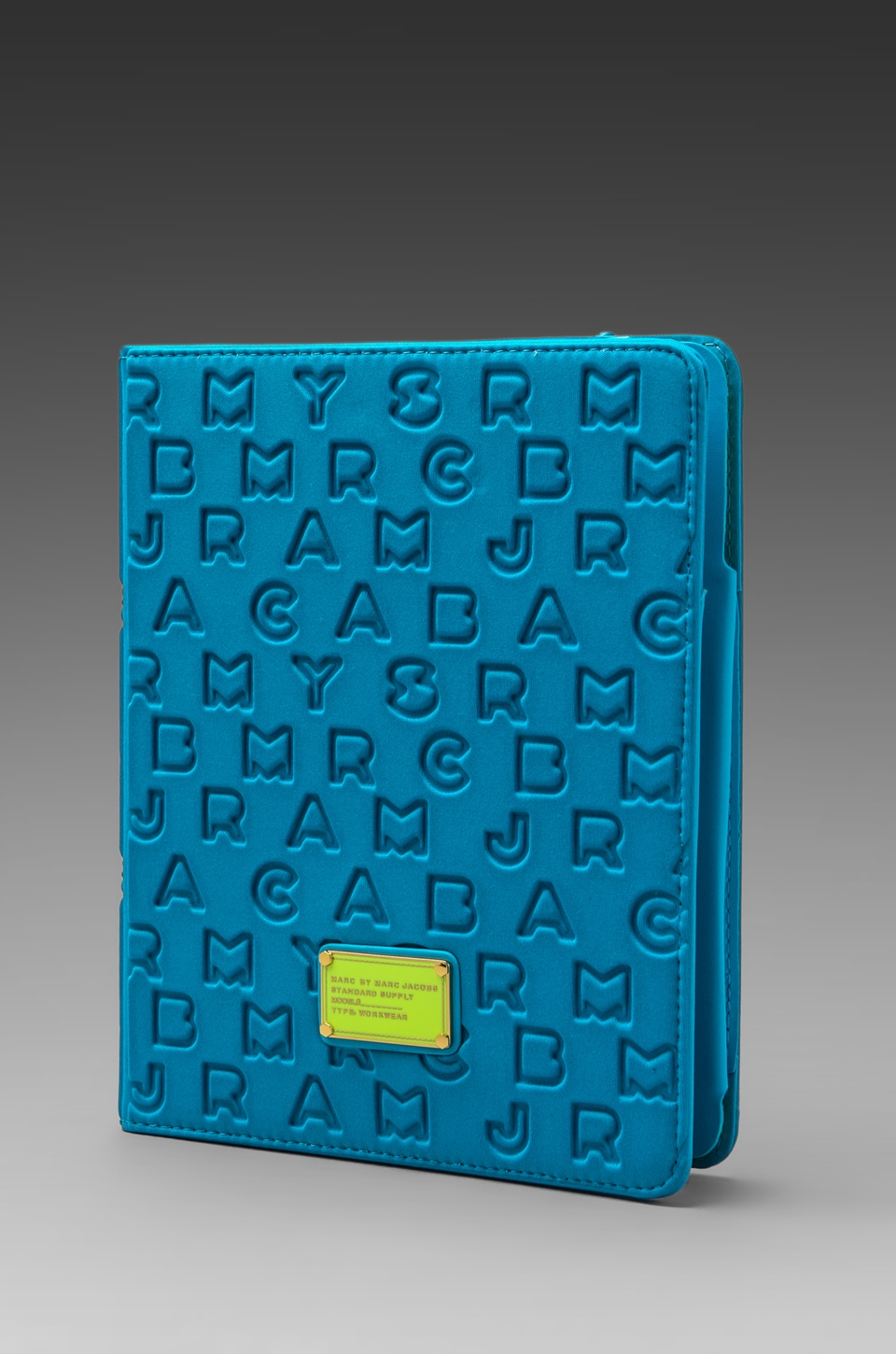 Marc by Marc Jacobs Dreamy Logo Neoprene Tablet Book in Atomic Blue